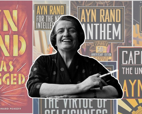 Why Ayn Rand Laughs Cover Photo