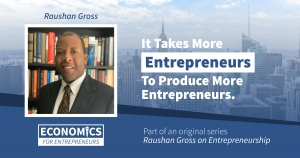 Raushan Gross on Entrepreneurship