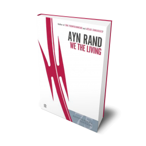 We The Living Book Cover Mockup