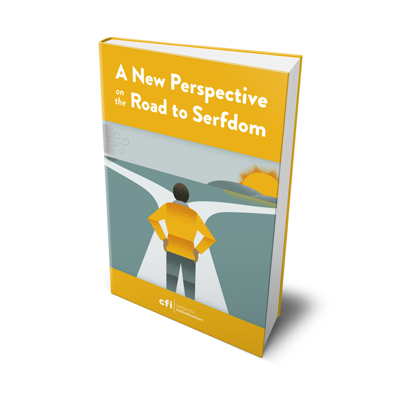 Road to Serfdom eBook Cover